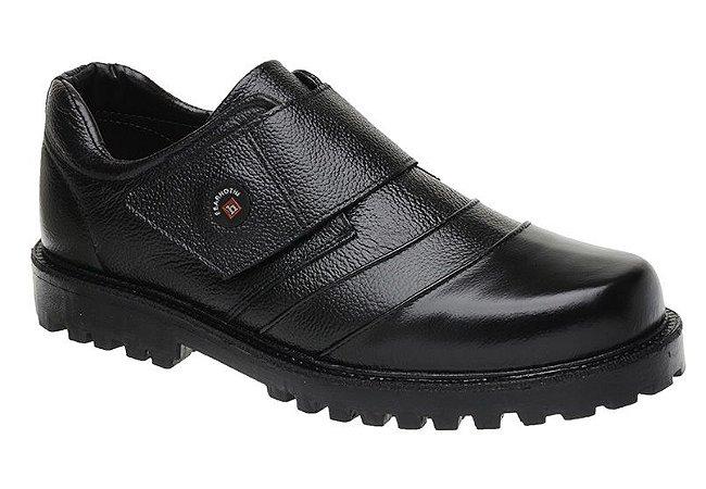Sapato Fearnothi Em Couro Com Velcro