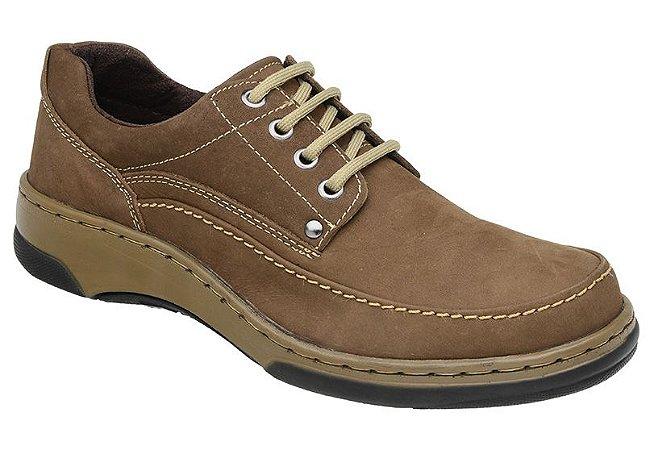 Sapato Casual Nobuck Amber