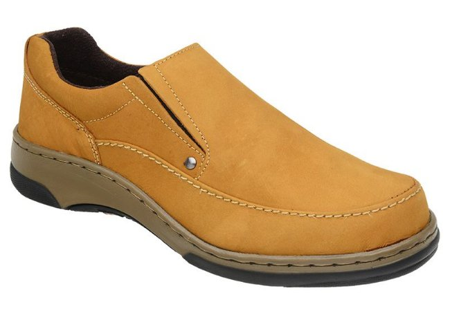 Sapato Casual Nobuck Havana