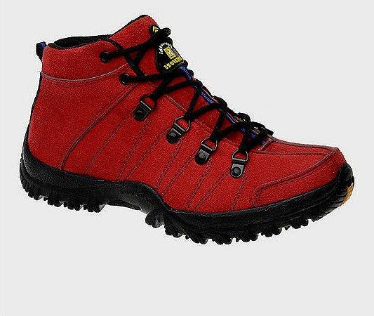 Sapato Adventure But Camurça Vermelho