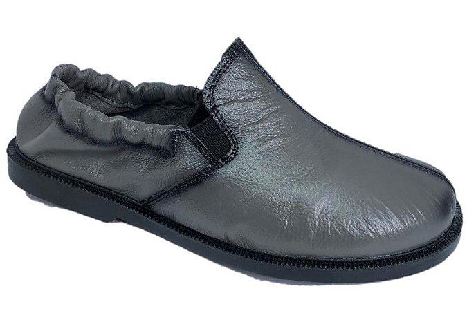 Sapato Bat com elástico- CINZA