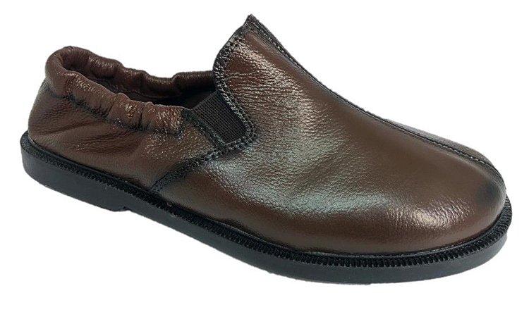 Sapato Bat com elástico- CAFÉ