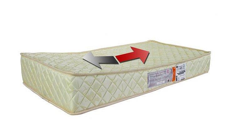 Colchão Para Berço Baby Antirefluxo 60x130x12 D18 Super Luckspuma