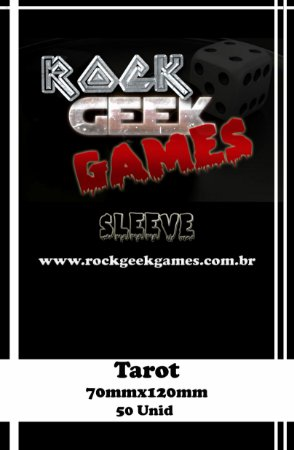 Sleeve Tarot - pack 50 Unid