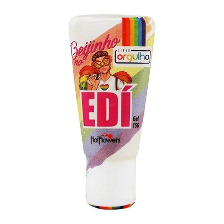 Beijinho no Edí - Gel para Beijo Grego Sabor Tutti Frutti