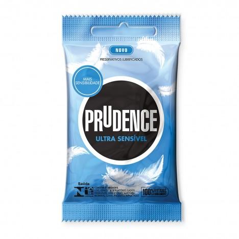 Preservativo Prudence - Ultra Sensível - 3 un