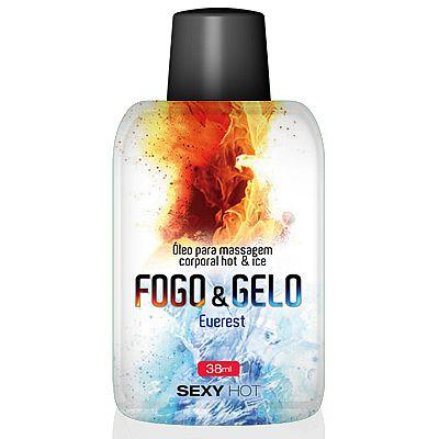Óleo comestível - Sexo Oral - Fogo e Gelo - Everest - Sexy Hot - 38ml