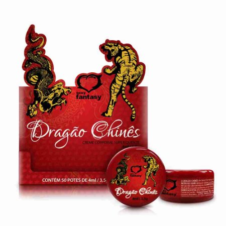 Creme Excitante - Dragão Chinês - Aquece e Excita - 3,5g