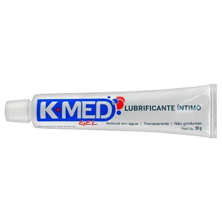 Gel Lubrificante Íntimo K-MED - 50g