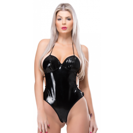 Body Feminino Submission - Vinil - Preto