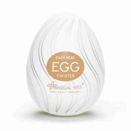 Masturbador Maculino Egg - Twister