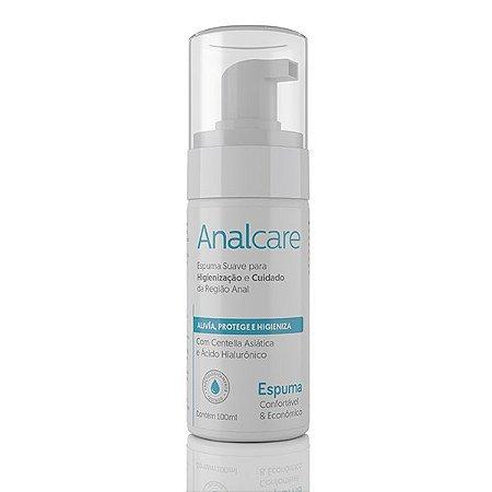 Gel Anal - Anal Care - Espuma Hidrata Dilata Cicatrizante - 100 ml