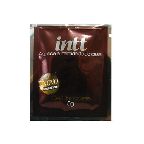 Gel Comestível - Sexo Oral - Aquece - Intt - Chocolate - 5g