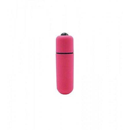Vibrador Bullet - Capsula Ultra Potente - 10 Velocidades - Rosa