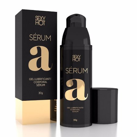 Lubrificante Sexy Hot Serum A base de Silicone