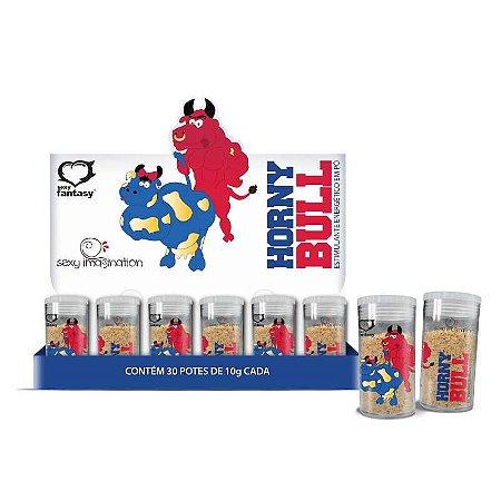Estimulante Masculino em Pó Horny Bull Energético 10g