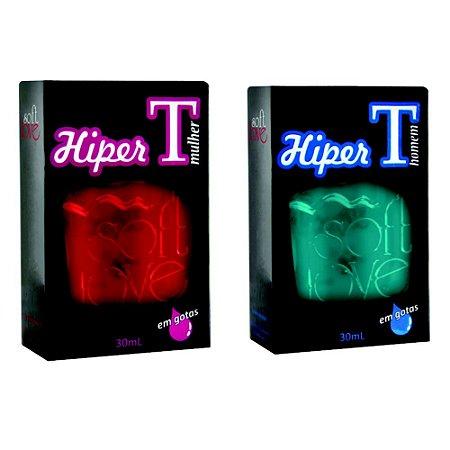 Energético Hiper Tesão Soft Love Taurina Cafeina 30 ml