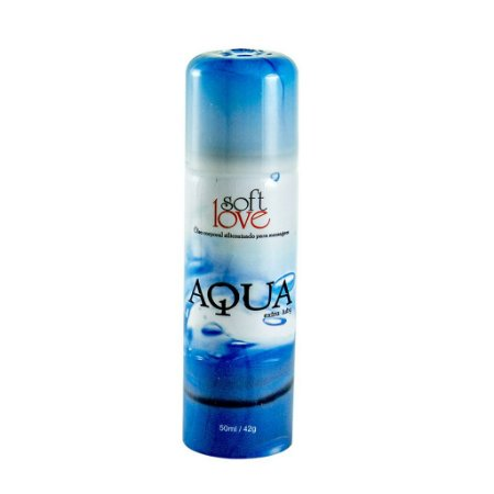 Gel Lubrificante Aerosol Aqua Soft Love Silicone 50ml