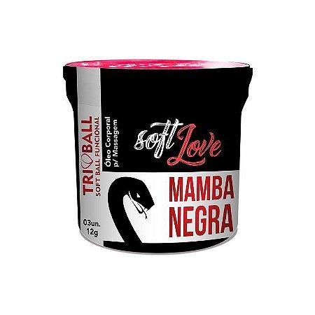 Bolinhas Mamba Negra - 3 un