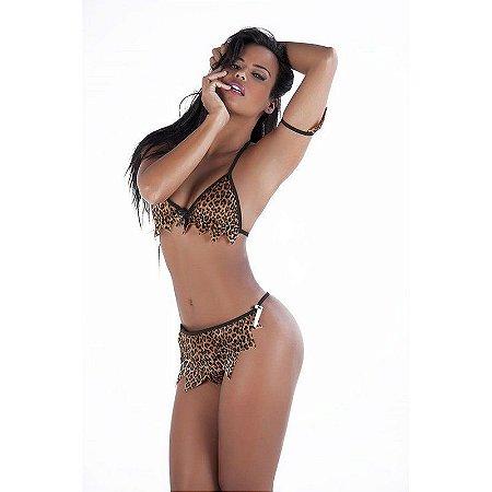 Fantasia Erótica Felina Selvagem - Veste 36 ao 44