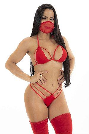Fantasia Ninja Sexy - Veste 36 ao 44