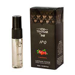 Lubrificante Comestível sabor cranberry [H2O] - INTT