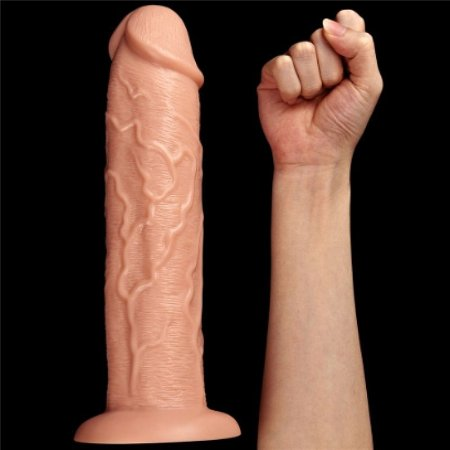 Penis King Size Realístico com Ventosa 27,5 x 6 cm