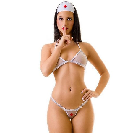 Mini Fantasia Doutora Sexy - Veste do 38 ao 46