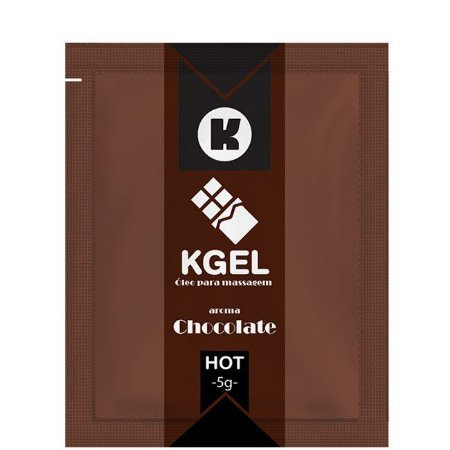 Gel para Sexo Oral -  Chocolate Hot - Sachê 5g
