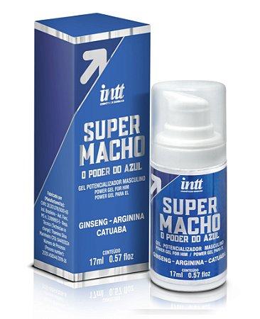 Gel Super Macho - Potêncializador  Vasodilatador - 17ml
