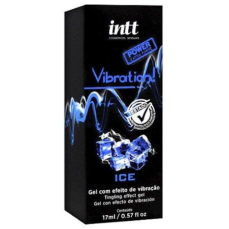 Gel Comestível - Vibration Ice - Vibra e Gela - Intt - 17g