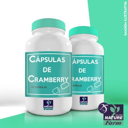 Cápsulas de Cramberry - 400mg