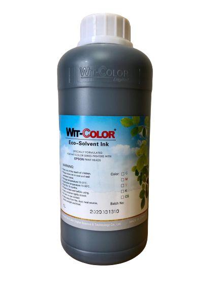 Tinta Eco-Solvente WitColor - 1 litro - Preto