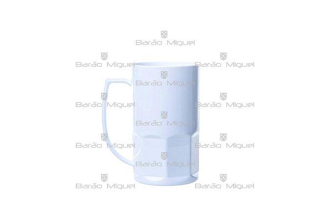 Caneca De Chopp Polímero Resinada Sublimática 500ML