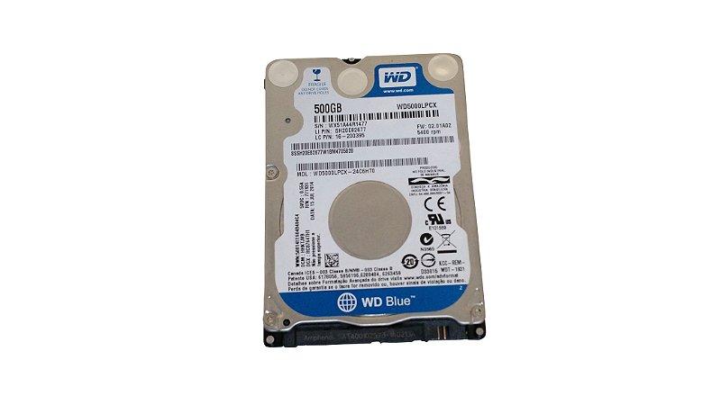 Wd Hd 500gb Notebook - Wd5000lpcx