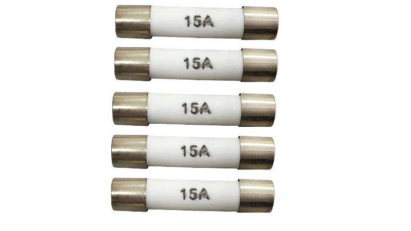 Fusível 15 Amp - 5 Unidades - 2077434015946