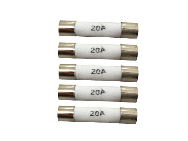 Fusível 20 Amp - 5 Unidades - 2017355571206