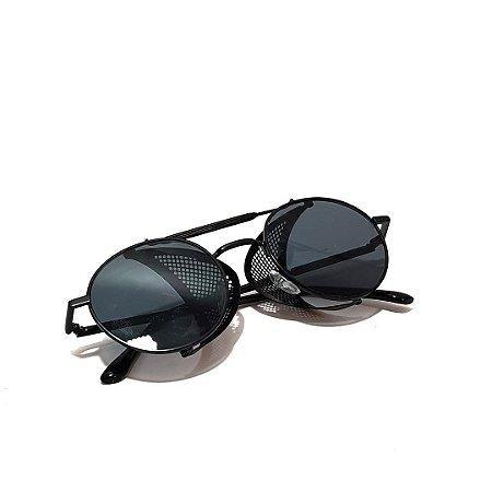 Óculos De Sol Punk Circular