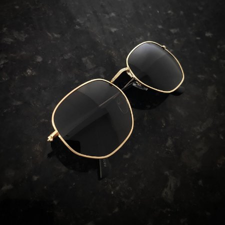 Óculos De Sol Hexagonal (G)