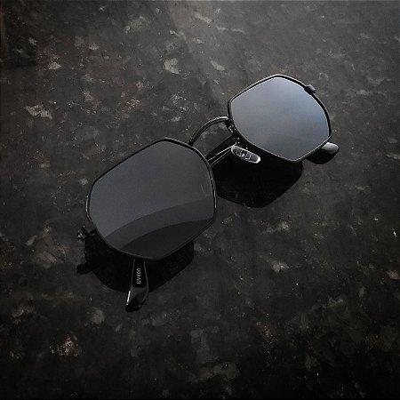 Óculos De Sol Octagonal