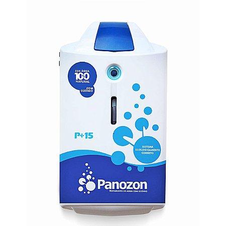 Tratamento de piscina com ozônio Panozon P+ 15 para piscinas até 15.000 Litros
