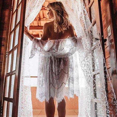 Robe em Renda Chantilly