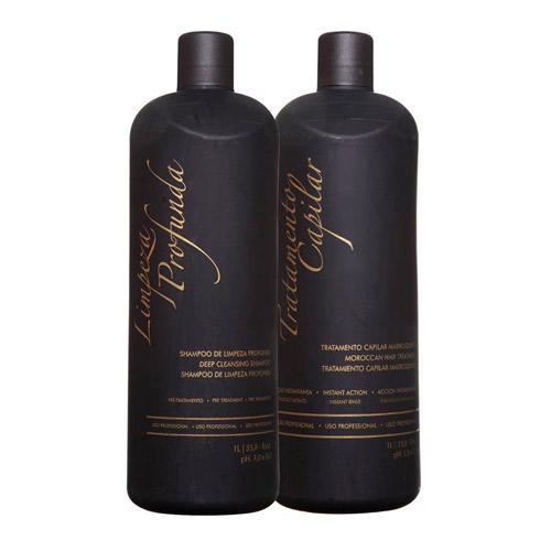 Kit Escova Progressiva Marroquina G. Hair - 2 Produtos