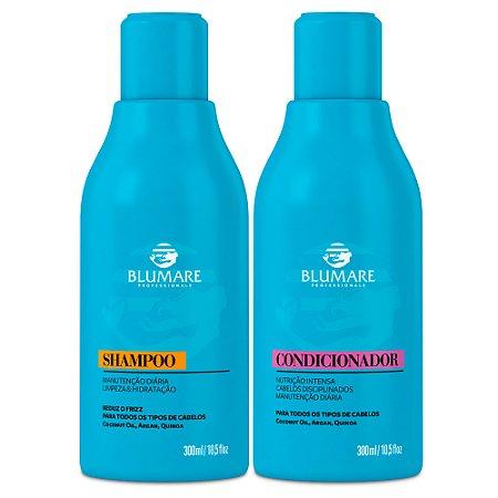 Kit Manutenção Shampoo e Condicionador 300ml - Blumare Professionale