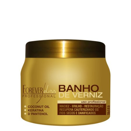 Banho de Verniz Brilho Hidratante 250g Forever Liss