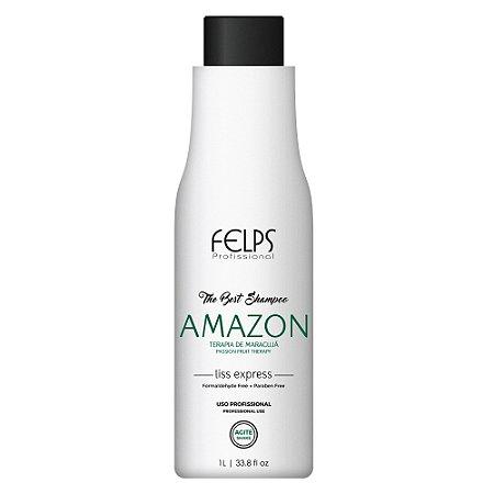 Shampoo que Alisa Amazon The Best 1 litro - Felps