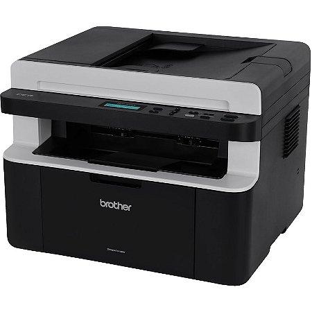 Impressora Multifuncional Monocromática Brother DCP-1617NW 110v