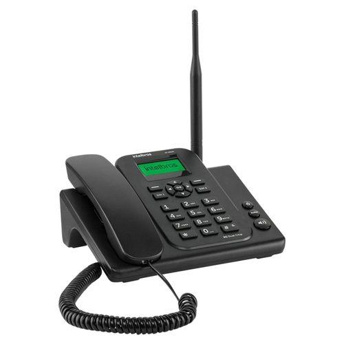 Telefone celular fixo 2G Intelbras CF 4202N