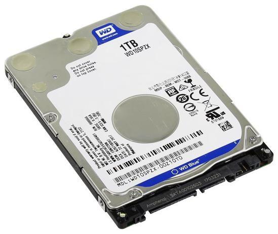 """Hd Notebook Western Digital 1TB, Sata 2.5"""", 5400rpm - Wd10spzx"""
