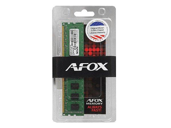 Memória Afox Longdimm, 4GB, 1333MHz, 1.5V, 240 Pinos, DDR3